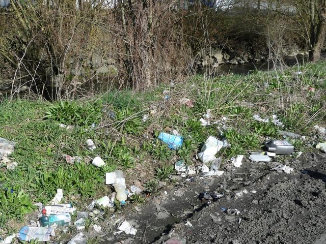 Waschanlagen-Müll-vorher