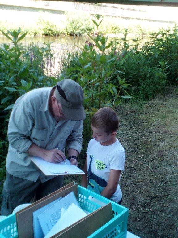 Ferienpassaktion – Gewässer Untersuchung